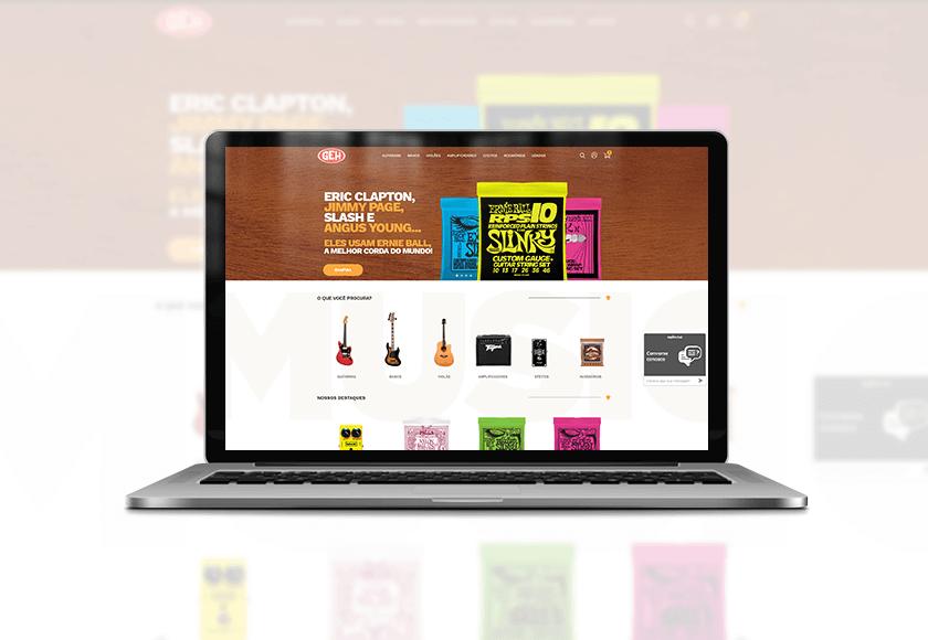 Geh Music - a experiência e paixão pela música em forma de e-commerce