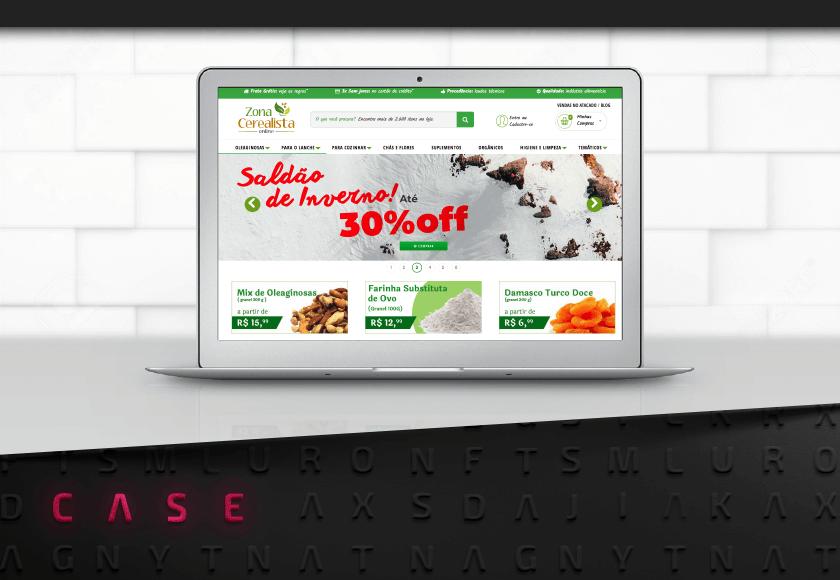 Conheça a Zona Cerealista Online: loja de produtos naturais e orgânicos a granel